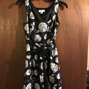 Loft A-Line Sleeveless Dress